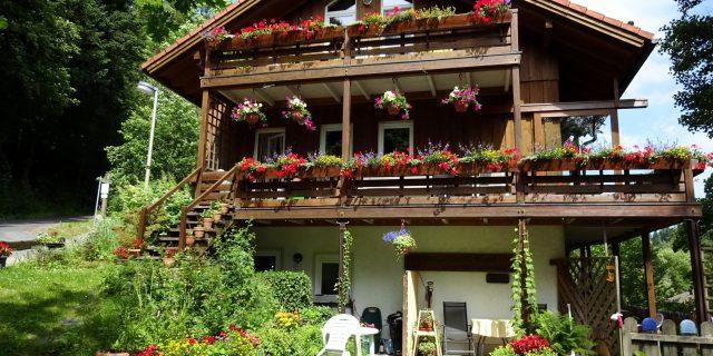 Haus vorm Wald